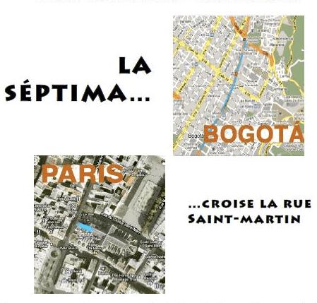 la Septima croise la rue Saint-Martin