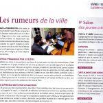 les Rumeurs de la Ville presse Nogent Magazine 1