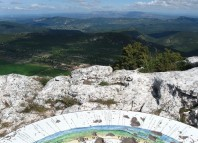 au sommet de la Sainte-Baume