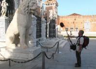 Jean-Marc L'HOTEL et le lion de Venise