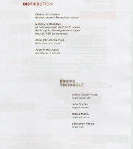 ENTREES en MATIERES programme 3